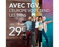 Voyages SNCF: L'Europe en train dès 29 euros
