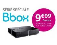Bouygues Telecom: Abonnement Bbox (Internet + TV + Téléphone fixe) à 9,99€ par mois pendant 1 an