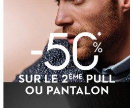 Brice: 50% de réduction sur le 2ème Pull ou Pantalon acheté