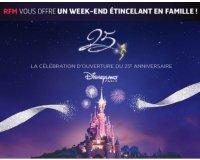 RFM: Un week-end à Disneyland Paris en famille à gagner