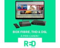 Showroomprive: Abonnement Internet RED box à 10€/mois à vie et sans engagement
