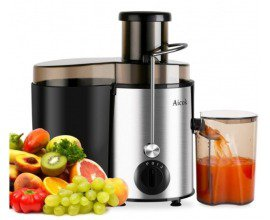 Amazon: Extracteur de Jus Aicok Juicer 400W Inox à 29,99€