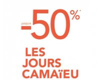 Camaïeu: Les jours Camaïeu : jusqu'à 50% de remise