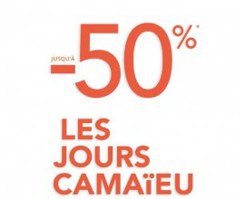 Camaïeu: [Les jours Camaïeu] Jusqu'à 50% de remise sur de nombreux articles