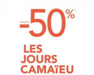 Camaïeu: [Les jours Camaïeu] Jusqu'à 50% de remise sur de nombreux articles + code -10% dès 4 articles