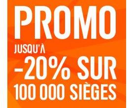 easyJet: Jusqu'à - 20% sur 100 000 billets d'avion pour des vols entre le 21/03 et 05/07