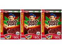 Amazon: 3 paquets de Céréales Coco Pops, Miel Pops, Smacks ou Frosties à partir de 4,90€