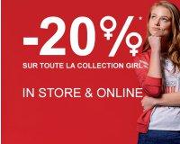 Bizzbee: 20% d'économie sur tout le rayon girl