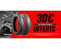 Dafy Moto: 15€ offerts pour l'achat d'un pneu Bridgestone & 30€ pour un train complet