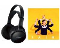 Cultura: L'album de Jain offert pour l'achat d'un casque Sony