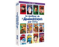 Amazon: Coffret DVD Le Meilleur de l'animation par Sony (12 films) à 14,99€