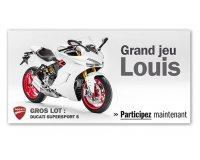 Louis Moto: Grand jeu 2017 :  la nouvelle Ducati Supersport S à gagner par tirage au sort