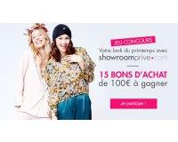 Marie France: 15 bons d'achat de 100€ chez showroomprive.com à gagner