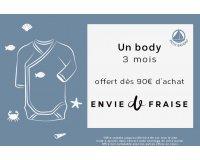 Envie de Fraise: Un body 3 mois Petit Bateau en cadeau à partir de 90€ d'achat