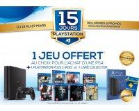 Micromania: 1 PS4 achetée = 1 jeu + 1 livre collector + 3 mois d'abonnement PS + offerts