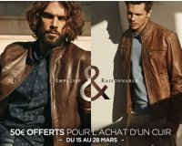 Olly Gan: 50€ de réduction pour l'achat d'une veste en cuir
