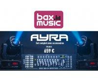 Bax-shop: Le set de Lyres à LED Ayra ERO 030 tout équipé à 659€ au lieu de 759,80€