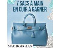 Femina: 7 sacs à main Mac Douglas en cuir d'une valeur unitaire de 500€ à gagner