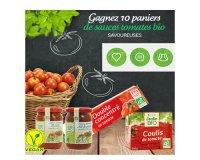 Jardin BiO': 10 paniers de sauces tomates bio à gagner