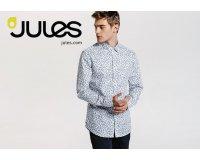 Jules: -50% sur la 2e chemise achetée