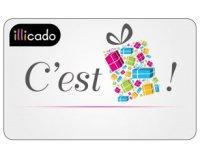 Auchan: 10 cartes cadeaux illicado de 100€ à gagner
