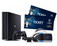 Playstation: 2 billets pour la finale 2017 de l'UEFA Champions League & des PS4 Pro à gagner