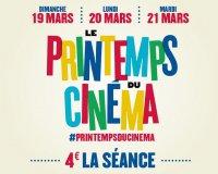 UGC: Le Printemps du Cinéma : 4€ la séance du 19 au 21 mars