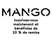 Mango: 10% de remises en vous inscrivant à la liste de publication