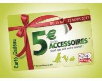 Maxizoo: 5€ de réduction sur tout le rayon des accessoires