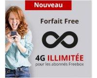 Free: Forfait mobile tout illimité (appels, SMS, MMS et Internet) à 15,99€/mois