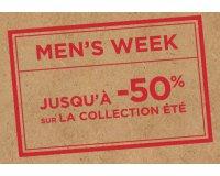 Celio*: Men's Week : jusqu'à -50 % sur de nombreux articles