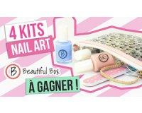 Rose Carpet: Une box composée d'un kit nail art d'une valeur de 17,90€ à gagner