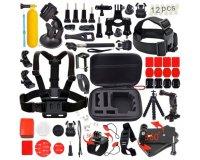 Amazon: Kit de 54 accessoires pour Caméra GoPro Hero 1 2 3 3+ et 4 à 11,99€