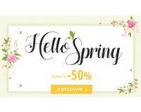 Planet Photo: Hello Spring : jusqu'à -50% sur une sélection d'articles