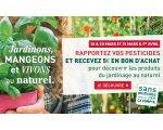 Botanic: Ramenez vos pesticides en magasin et repartez avec un bon d'achat de 5€