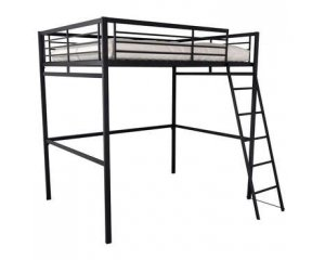 lit mezzanine 140 x 190 cm terri 2 199 99 au lieu de 335 conforama. Black Bedroom Furniture Sets. Home Design Ideas