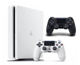 Cdiscount: Console PS4 Slim 500 Go noire ou blanche avec 2 manettes officielles à 249,99€