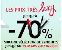 Sephora: Prix Très Sexy : jusqu'à - 70% sur une sélection de 200 produits de beauté