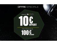 Motoshopping: 10€ offerts automatiquement par tranche de 100€ d'achat d'équipements de moto