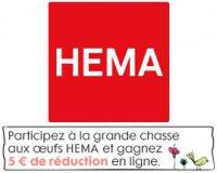 HEMA: Trouvez les oeufs de Pâques sur le site et recevez 5€ sur votre prochain achat
