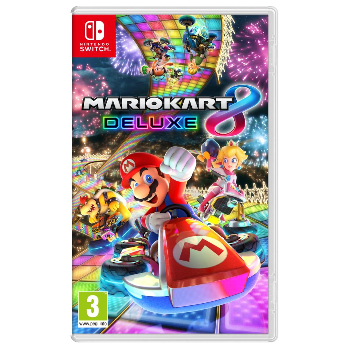 Code promo Cdiscount : Jeu Mario Kart 8 Deluxe sur Nintendo Switch à 39,99€