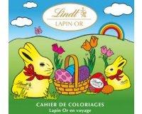 Lindt: Un cahier de 9 pages de coloriages gratuit en PDF