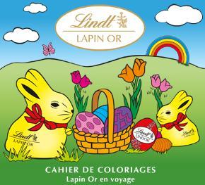 Un cahier de 9 pages de coloriages gratuit en pdf lindt - Cahier de coloriage gratuit ...