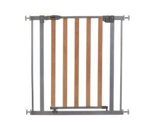 barri re de s curit pour enfant hauck wood lock safegate 40 rose ou bleu. Black Bedroom Furniture Sets. Home Design Ideas