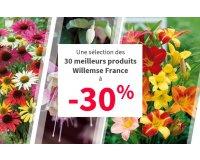 Willemse: -30% sur une sélection de meilleures ventes pour les balcons et jardins