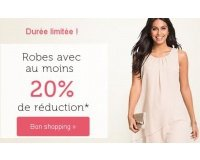 Bonprix: Minimum -20% de réduction sur une sélection de robes