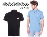 Bonobo Jeans: 2 polos Homme unie pour 29,99€