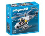 Auchan: Hélicoptère monoplace de police PLAYMOBIL 5916 à 7,99€
