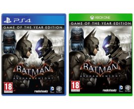 Micromania: Jeu Batman Arkham Knight - Game of the Year sur PS4 ou Xbox One à 19,99€