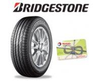 Norauto: Jusqu'à 80€ offerts en carte Total pour l'achat et montage de pneus Bridgestone